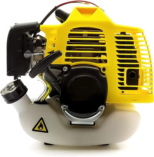 Tomking 52cc 2 Tiempos Mitsubishi Motor - Usado Encendido Jardín Cortacéspedes Desbrozadoras Cañas Ventiladores Fuerabordas Desbrozadora & Exterior Energía Herramientas Maquinaria: Amazon.es: Jardín