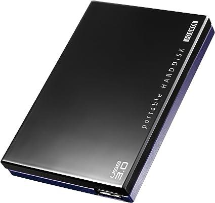 I-O DATA HDD ポータブルハードディスク 500GB USB3.0/テレビ録画/パソコン/家電対応 日本製 HDPE-UT500