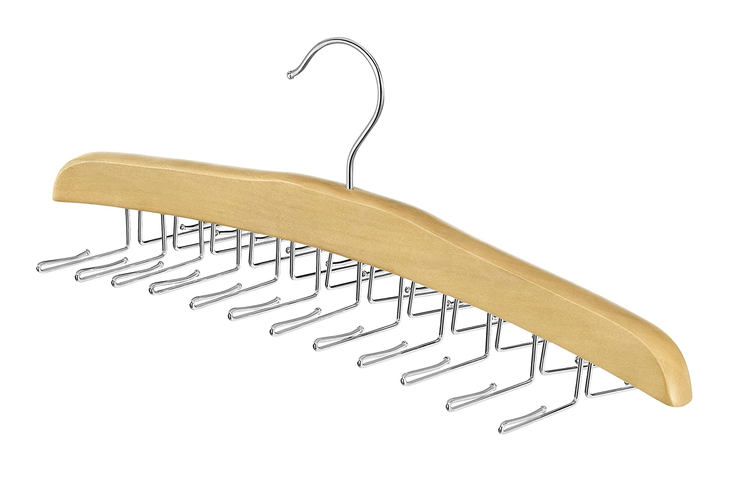 Whitmor 6026-737 Natural Wood Collection Tie Hanger