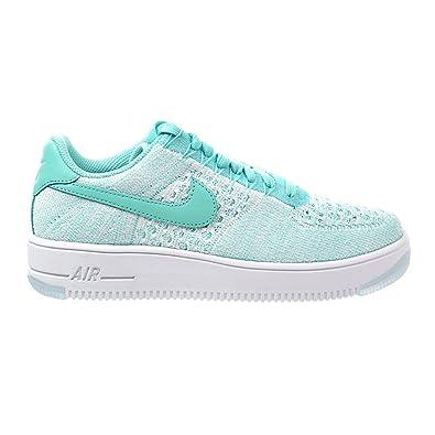 best website bdd4a 942c8 NIKE W AF1 Flyknit Low Women s Shoes Hyper Turquoise 820256-300 (11 B(