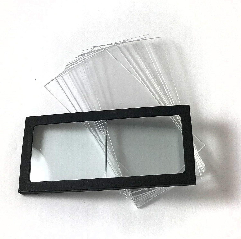 ".75 Diopter Welding Helmet Magnifier//Cheater Lens GLASS 2/"" x 4.25/"""