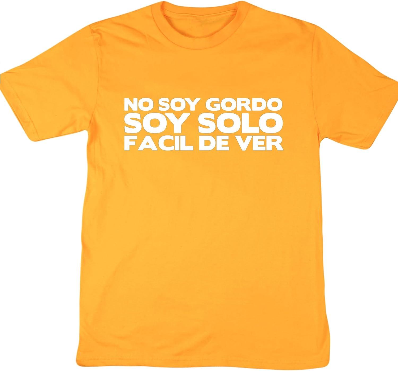HippoWarehouse NO SOY GORDO SOY FÁCIL DE VER camiseta manga ...