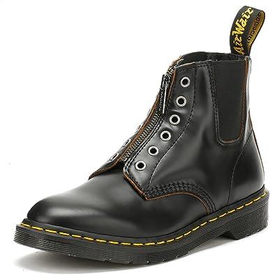 colpire piegato Abrasivo  Amazon.com | Dr. Martens Mens 101 Gst 6 Eye Boot, Size: 4 D(M) US / 3 F(M)  UK, Color: Black Vintage Smooth | Boots