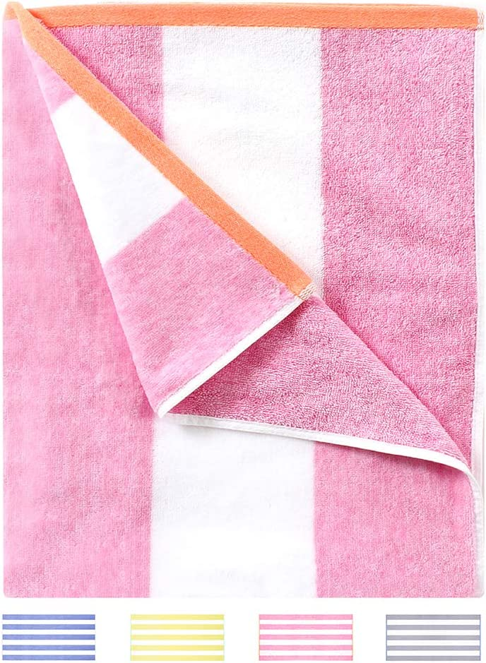 HENBAY Fluffy Beach Towel - Plush Thick Large