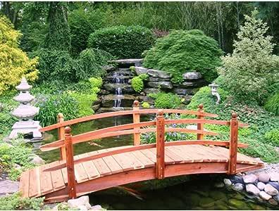 10 FT. Curvado doble rail Span puente (curvado doble rail W luces): Amazon.es: Jardín