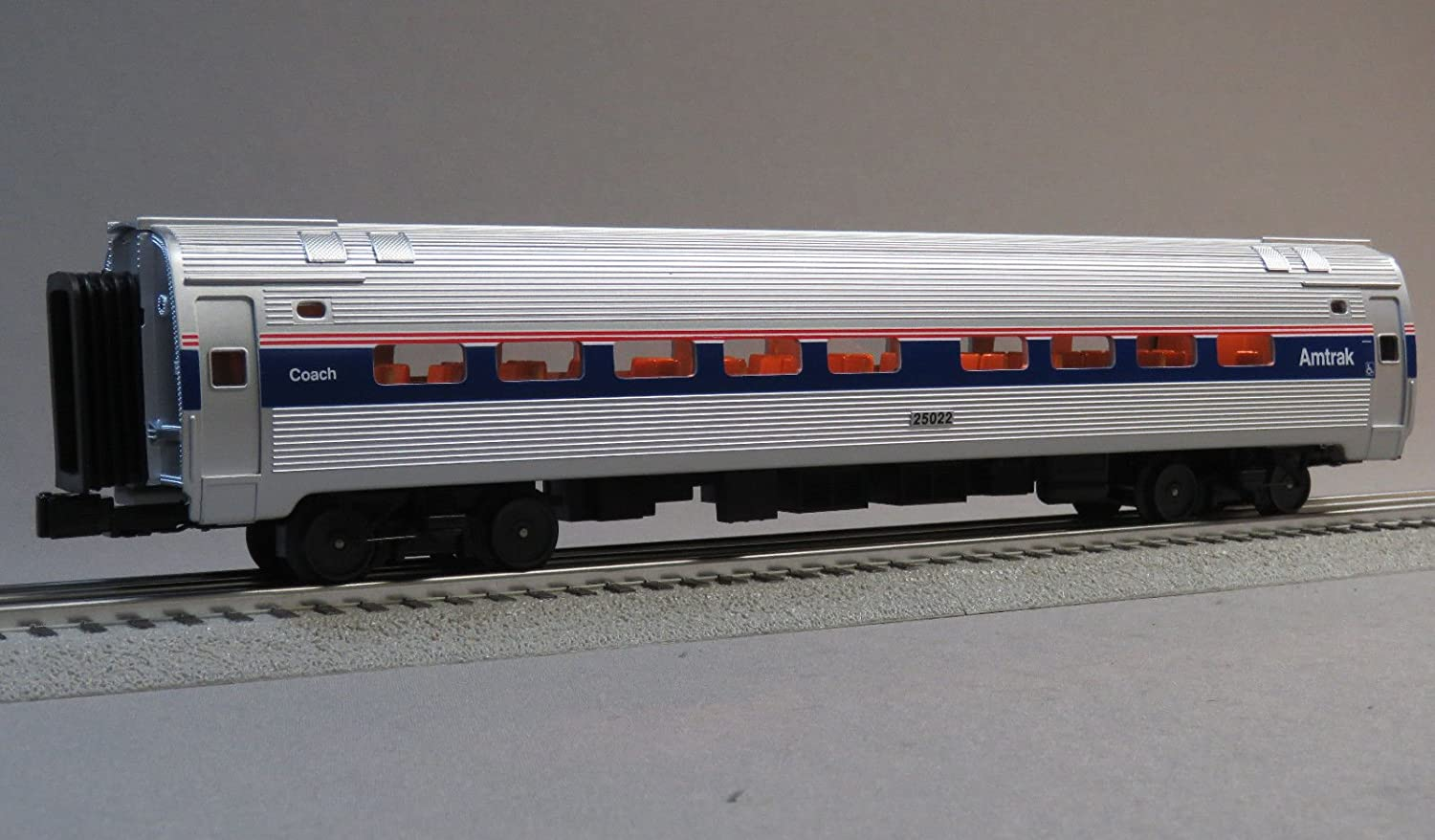 MTH Rail King Amtrak PassengerコーチCar # 25022 Oゲージ B07B2641RK