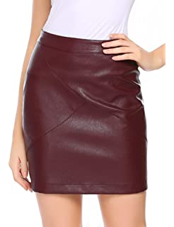 Only Onlerica Faux Leather Skirt Otw Falda para Mujer: Amazon.es ...