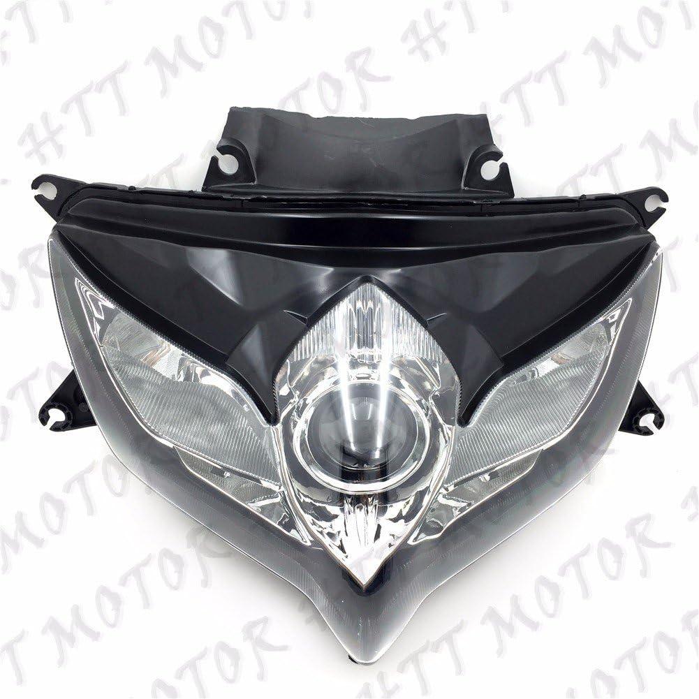 HTTMT CFP-1200-8 ABS Plastic Ram Air Intake Tube Duct Compatible with Suzuki GSXR600 GSX-R 750 2008-2010 Black