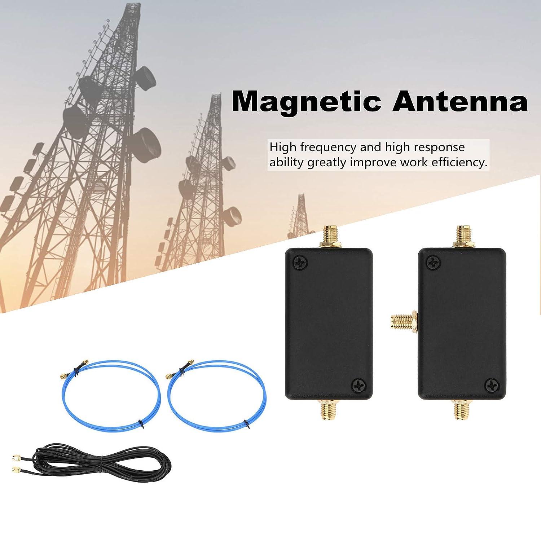 Antena magnética de 10 kHz a 30 MHz, antenas de bucle pasivas ...