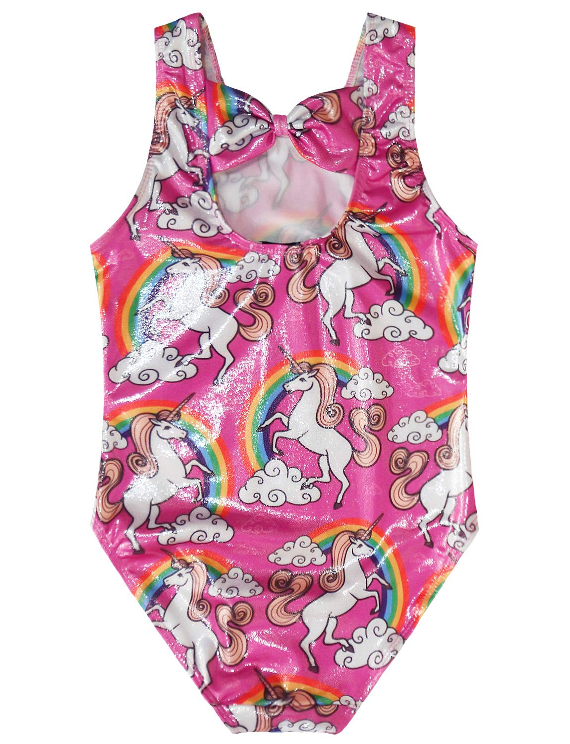 Gymnastics Leotards for Girls Sparkly Unicorn Outfits Activewear Quick Dry 4