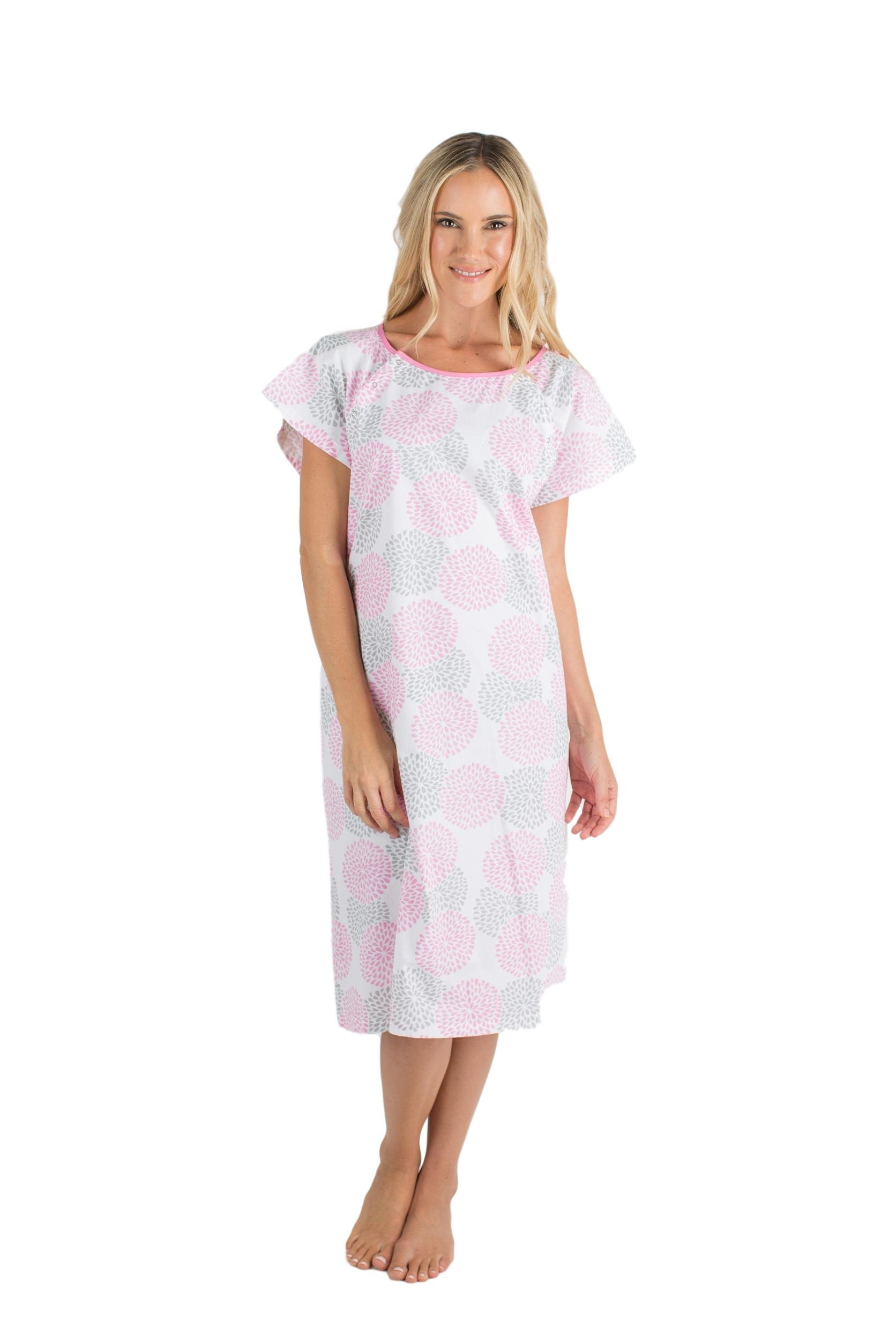 Gownies Hospital Patient Gown, Designer (S/M Size 0-10, Lilly)