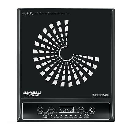 Maharaja Whiteline Chef Star Crystal IC-109 1400-Watt Induction Cooker (Black)