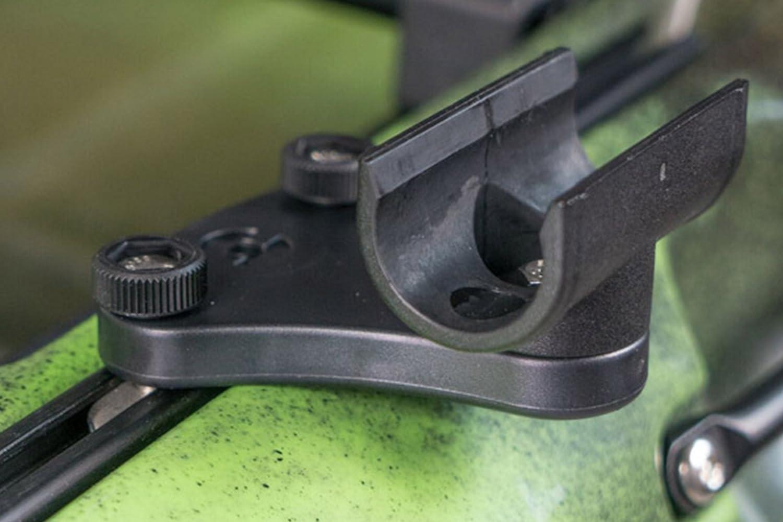 Railblaza QuickGrip Soporte para Pista de Clip de Paleta Negro Unisex Adulto