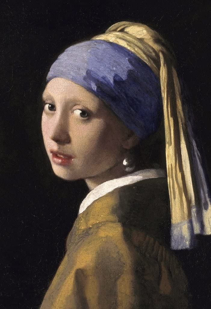 Gotham City Online Johannes Vermeer Girl with a Pearl Earring Art Print Poster 13x19 inch