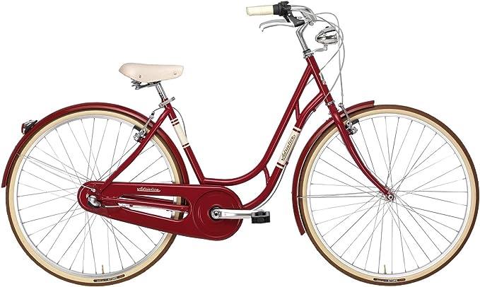 Adriatica - Bicicleta Clasica Danish Nexus 3v Rojo: Amazon.es ...