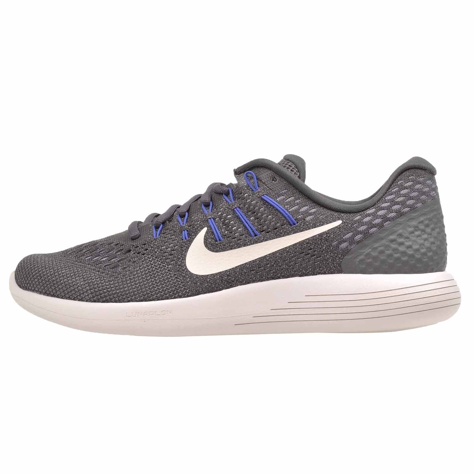 NIKE Men's Lunarglide 8, Dark Grey/Summit White, 11 M US