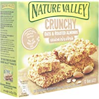 Nature Valley Crunchy Oats and Roasted Almonds, 252 gm