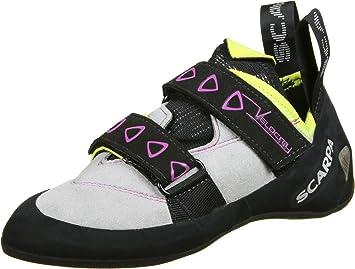 Scarpa Velocity Climbing Shoes Women lightgray/yellow 36 2018 Kletterschuhe yKohL