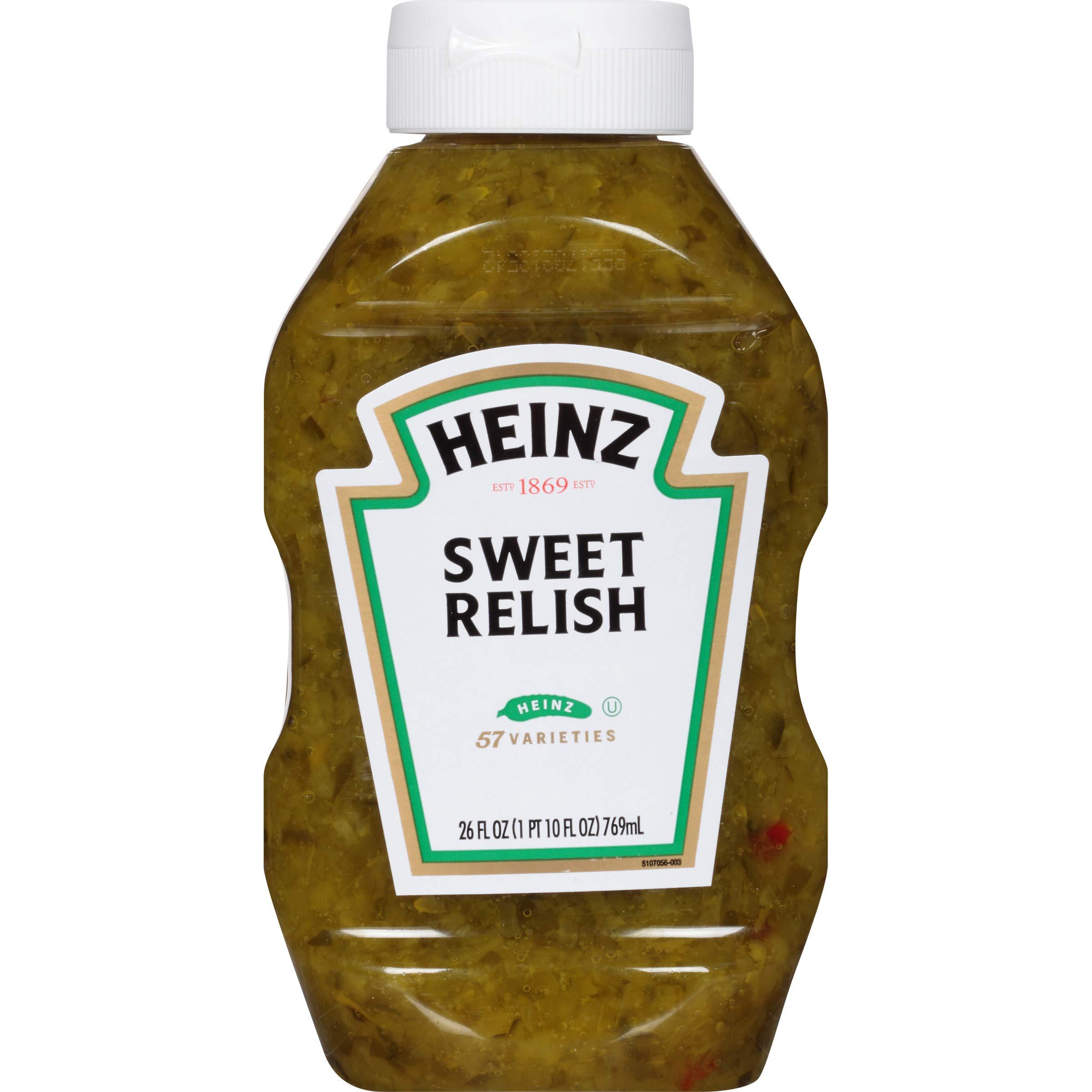 Heinz Sweet Relish, 26 fl oz Bottles
