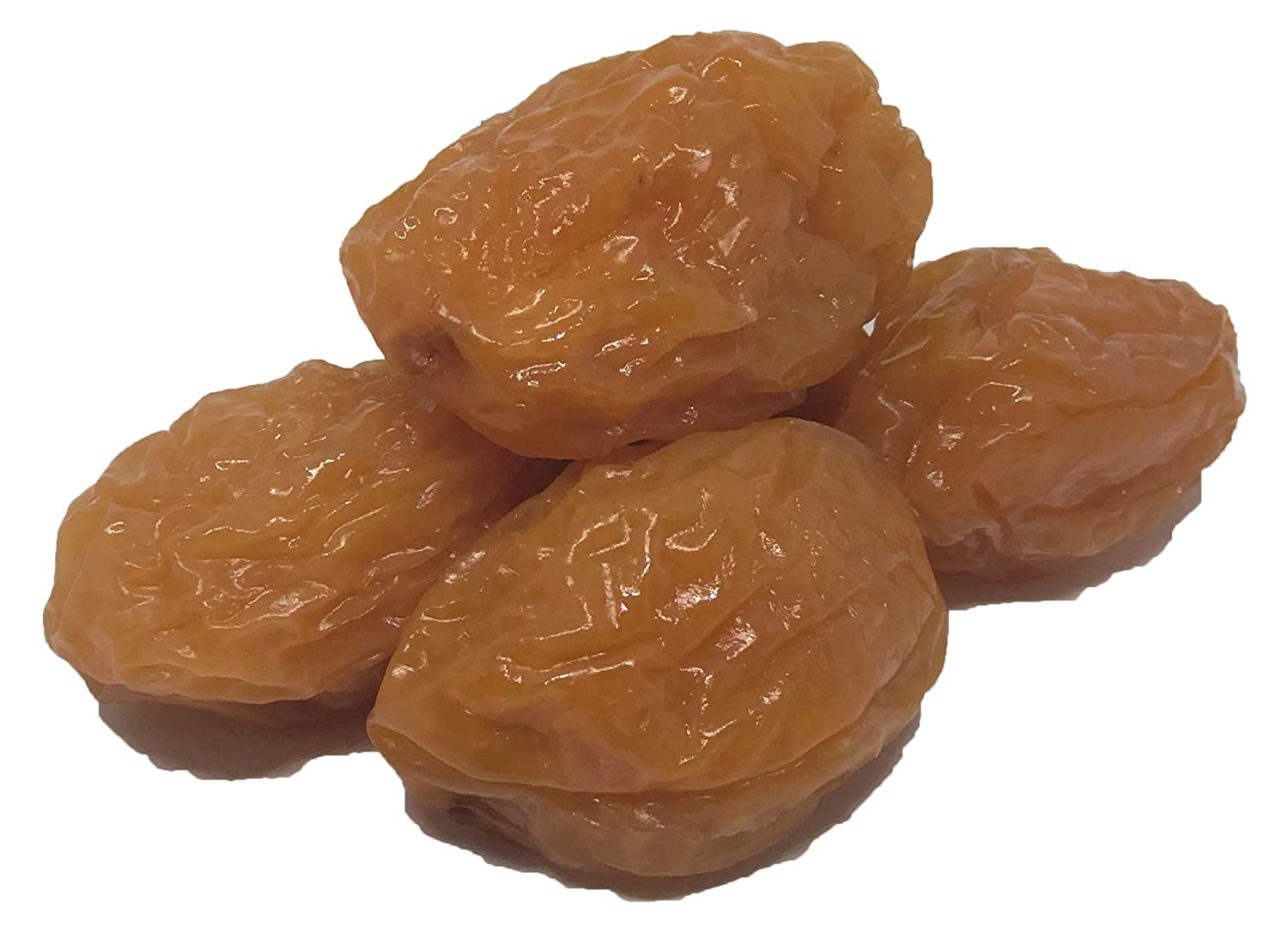 Dried Golden Sour Prunes (Plum) with Pits - 8 oz