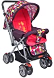 Little Pumpkin - Kiddie Kingdom Baby Stroller - Pram (Pink)