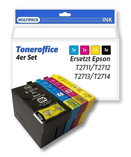 4 Set ahorro XL Cartuchos de impresora compatible reemplaza a ...
