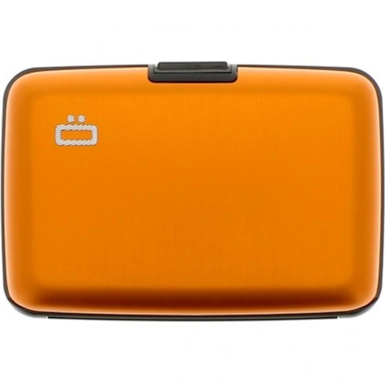 Porta Carte di Credito e Documenti OGON DESIGNS in Alluminio Arancio