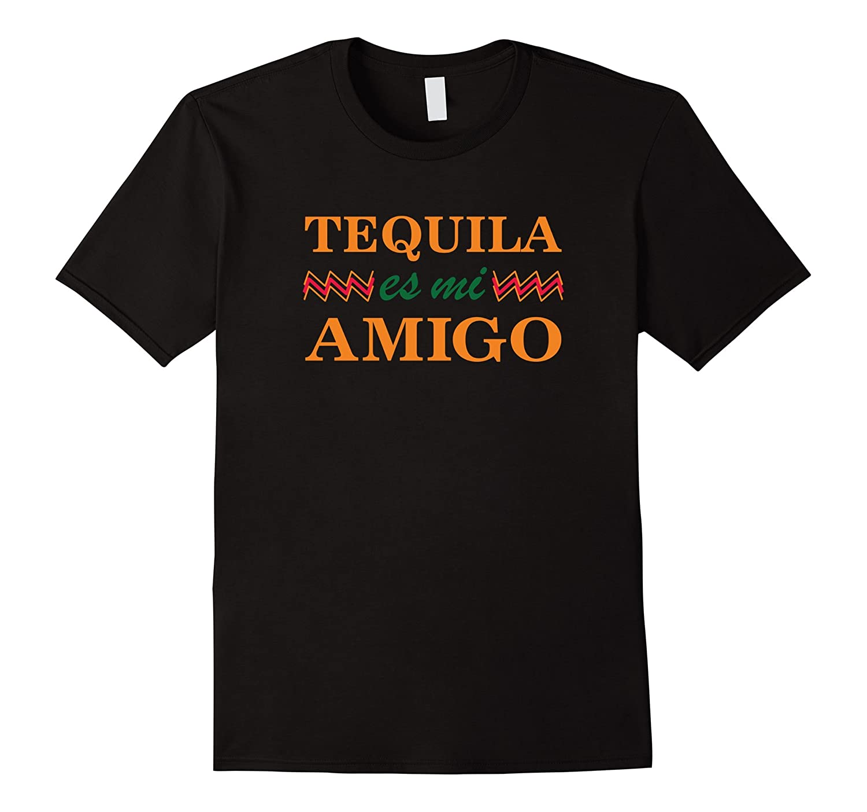 Tequila es mi Amigo Funny Drinking T-Shirt-CD