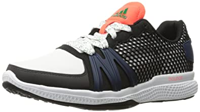 adidas Originals Women\u0027s Ively Cross-Trainer Shoe, White/Black/Solar Red,