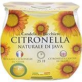 Nya priser Citronella trädgård ljus i en glasburk cirka 25 timmar bränntid gUL