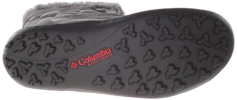 Columbia Women's Minx Mid II Omni-Heat Winter Boot B00GW8GPEE 9 B(M) US|Shale, Bright Red