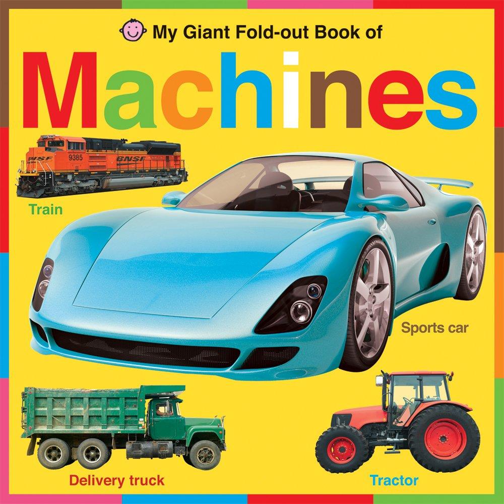 Download Machines: My Giant Fold-Out Books pdf epub