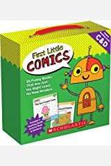 First Little Comics Parent Pack: Levels C & D: 20 Funny Books That Are Just the Right Level for New Readers Paperback
