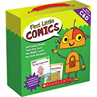 First Little Comics: Levels C & D (Parent Pack): 20 Funny Books That Are Just the Right Level for New Readers