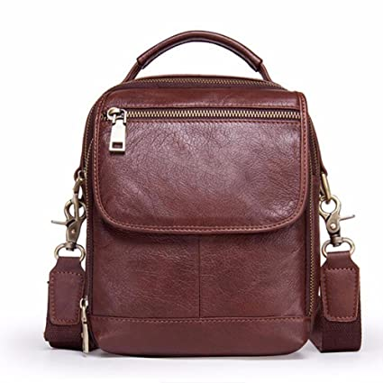 fe1737de7ff8 Amazon.com   NHGY Leather shoulder bag