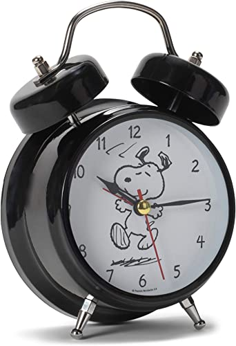 Mark Feldstein The Original Snoopy Peanuts Wacky Waker Bedside Alarm Sound Clock