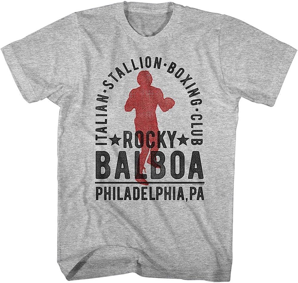 Rocky Boxer Balboa Sylvester Stallone Boxing Unisex Tee  Mens T-Shirt