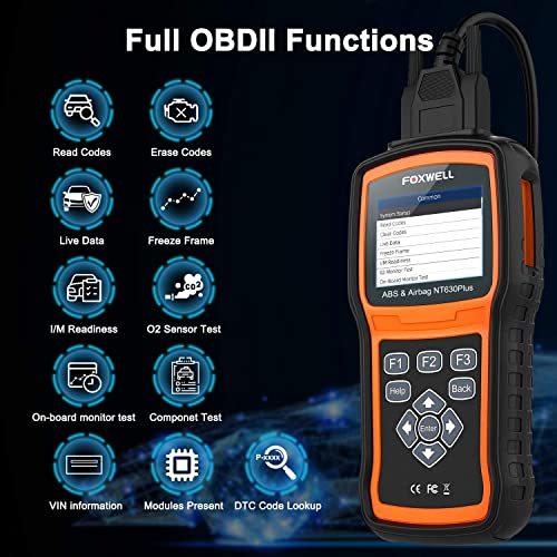Foxwell NT630 Plus is one of the best GM scan tools
