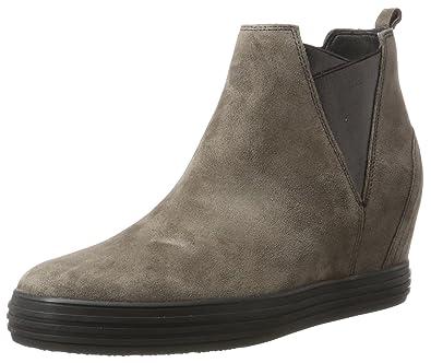 Gabor Shoes Damen Comfort Sport Stiefel, Grau (30 Anthrazit (Micro)),