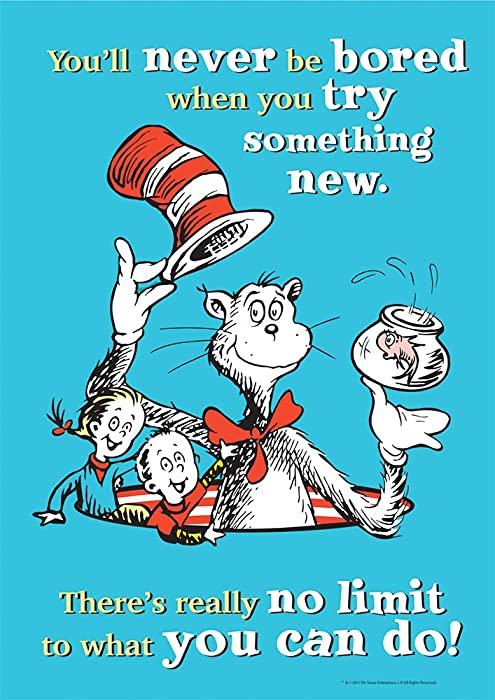 Top 8 Eureka Dr Seuss Try Something New Poster