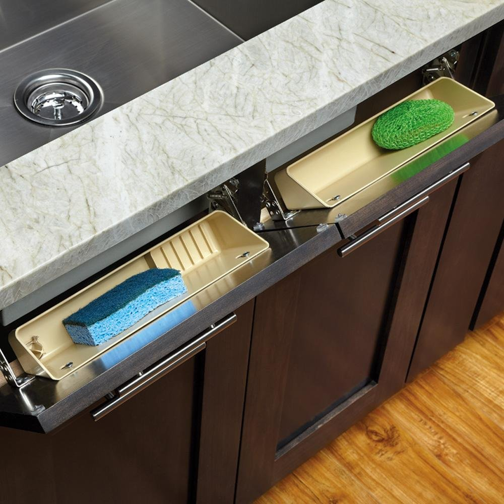 Sink Front Tip-Out Tray - Rev-a-Shelf 6572 Series - 11'' Wide by Rev-A-Shelf