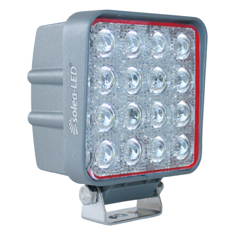 Solea de type 1910503600ER Projecteur de travail LED 3617d Gris [Classe énergétique A + +] [Classe énergétique A] Solea-LED