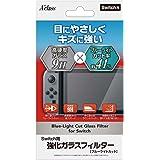 Switch用強化ガラスフィルター【ブルーライトカット】
