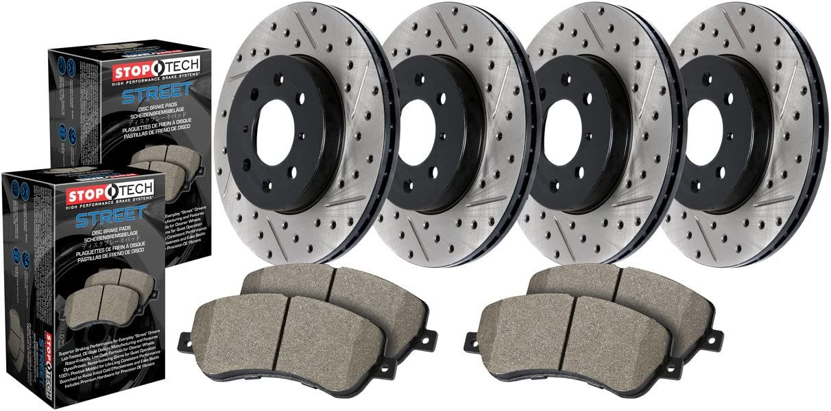 Stoptech 935.04002 Street Pack-SLT//DRLF/&R