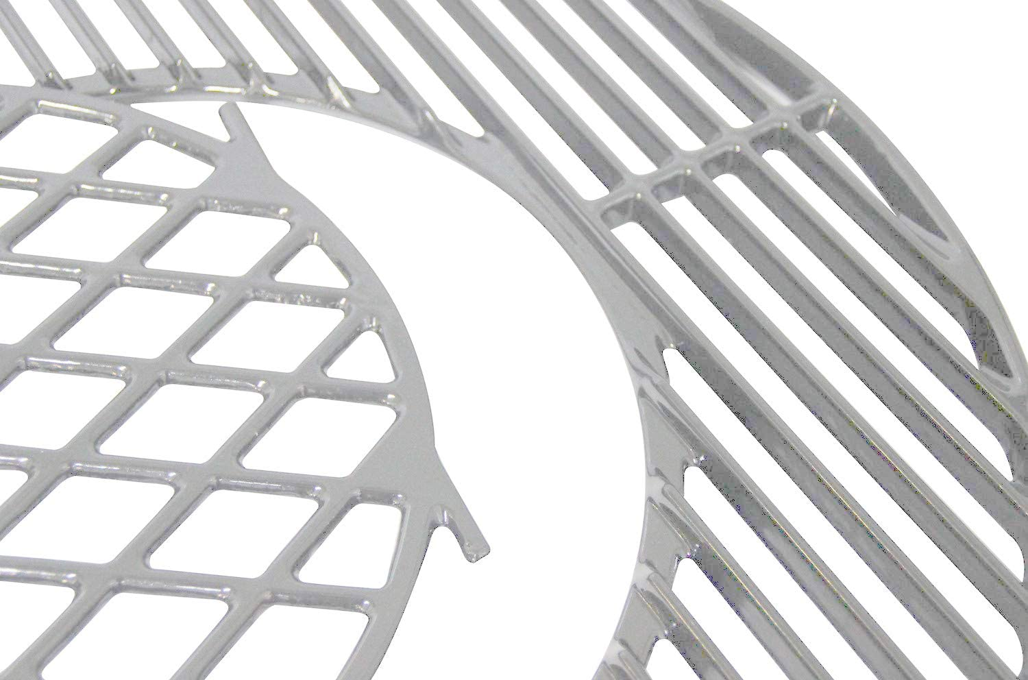 22.5 Charcoal Smoker 22.5 Weber Master-Touch Votenli S883E Stainless Steel Cooking Grid Grates Replacement for Weber 22.5 Weber Smokey Mountain Cooker 1-Pack