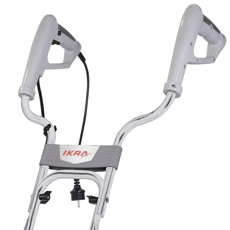 Ikra 70300420 IEM 800 S eléctrico suelo azada Cultivador S, ancho de trabajo 30 cm, profundidad de trabajo 20 cm W, W: Amazon.es: Bricolaje y herramientas