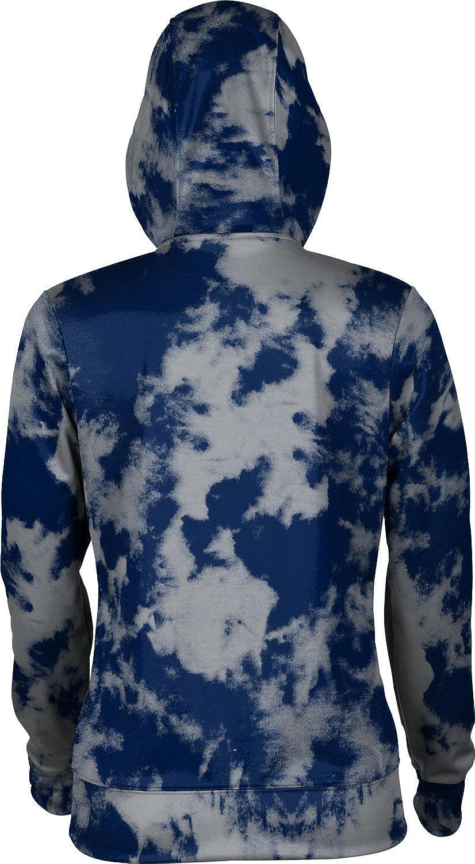 Grunge ProSphere Xavier University Girls Zipper Hoodie School Spirit Sweatshirt