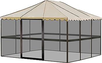 Casita 12-Panel Square Screenhouse