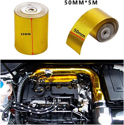 Car High Performance Reflective Heat Protection 2/'/' x15/' Roll Turbo Engine Tape