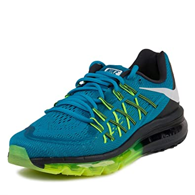 free shipping 3b1a9 490a0 Amazon.com   Nike Womens WMNS Air Max 2015 Light Blue Lacquer White-Volt  Synthetic Size 10   Fashion Sneakers